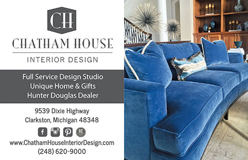 Ask About Chatham House Interior Design